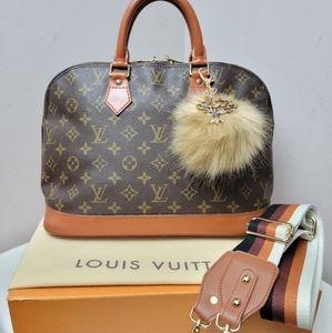 100% Authentic Louis Vuitton Alma PM Bag